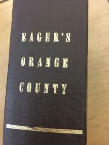 An outline history of Orange County,: Together with local